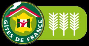 Le Mas du Grand Jonquier est sur Gîtes de France, 3 épis