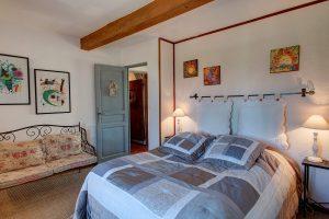 La chambre d'hôtes Basilic, du Mas du Grand Jonquier en Provence