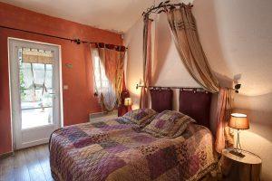 La chambre d'hôtes Figuier, du Mas du Grand Jonquier en Provence