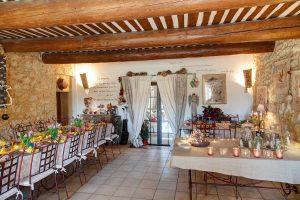 Table d'hôtes en Provence, au Mas du Grand Jonquier