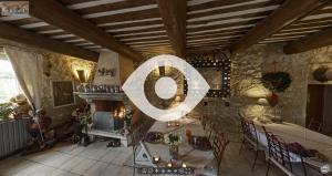 Visite virtuelle de la table d'hôtes au Mas du Grand Jonquier