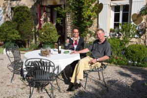 Ina et Thomas, du Mas du Gard Jonquier